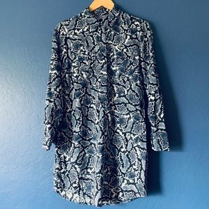 NWT Banana Republic Factory Shirt Dress - 2P